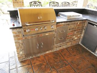 Custom Outdoor Kitchen DFW 8