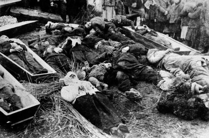 Жертви «очисної акції» в Пискоровичах
