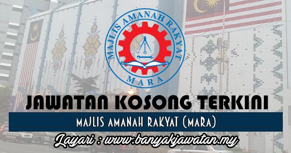 Jawatan Kosong 2017 di Majlis Amanah Rakyat (MARA) www.banyakjawatan.my