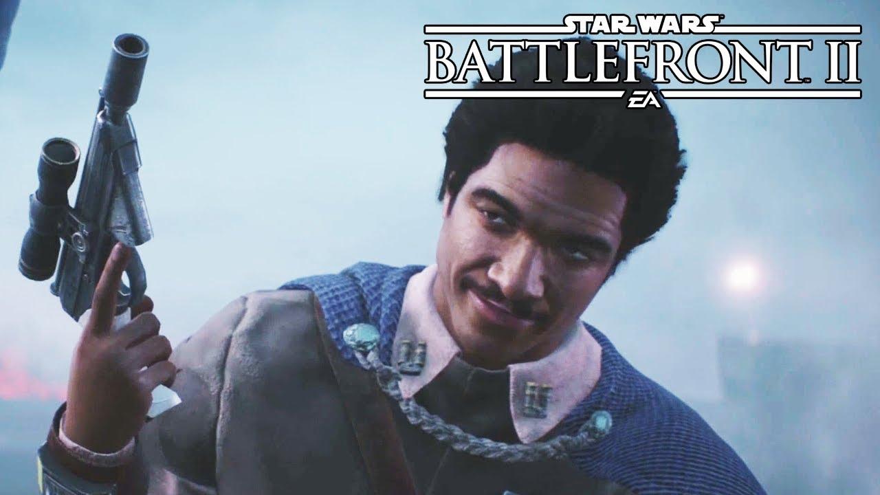 Lando in Star Wars Battlefront 2: best cards and tips