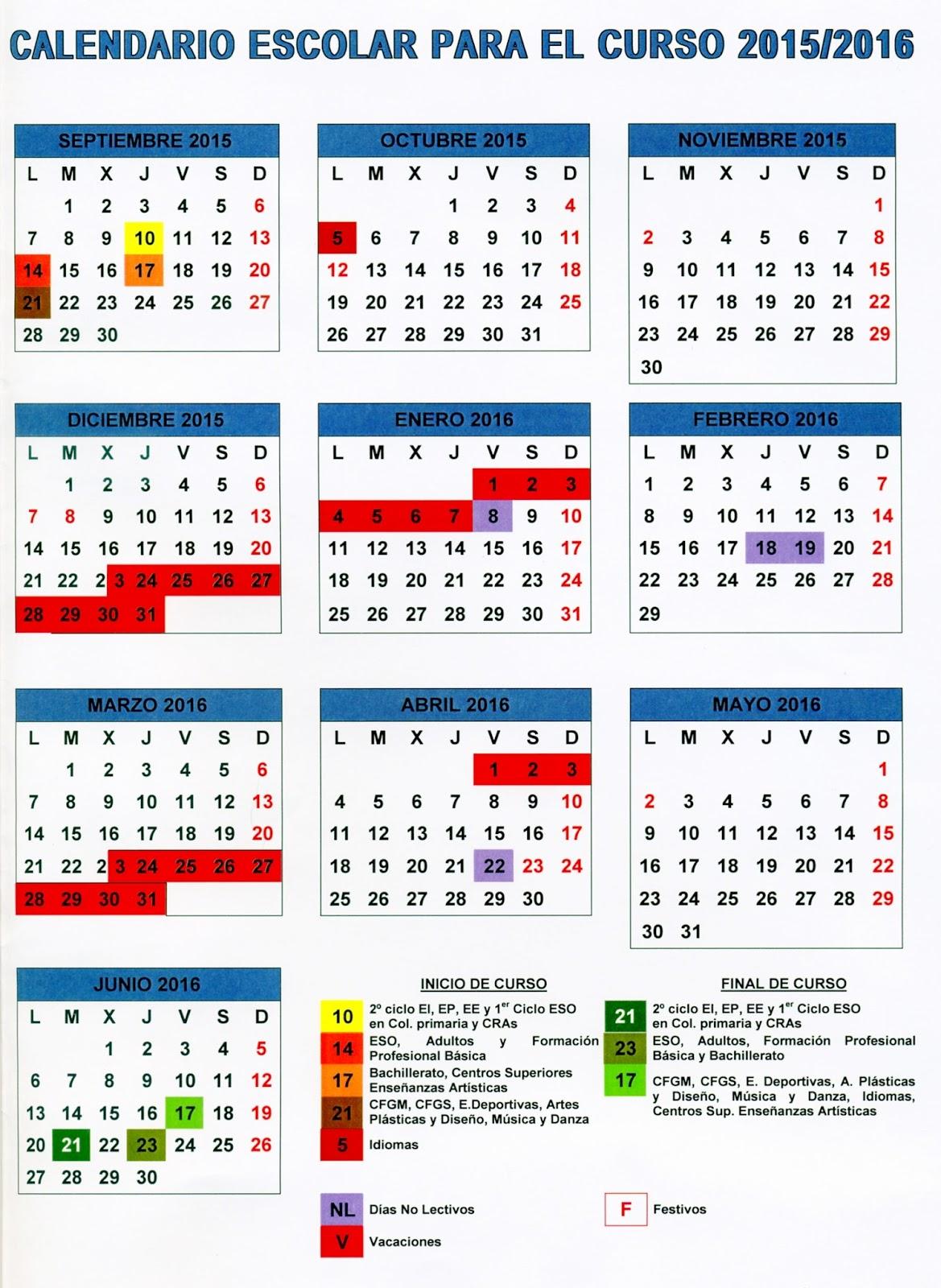 Aragon Calendario Escolar.Aragon Calendario Escolar