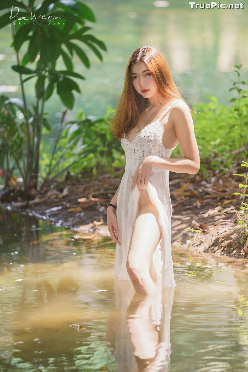 Image Thailand Model - Sirirut Thananet - Beautiful Angel and Small Stream - TruePic.net - Picture-3