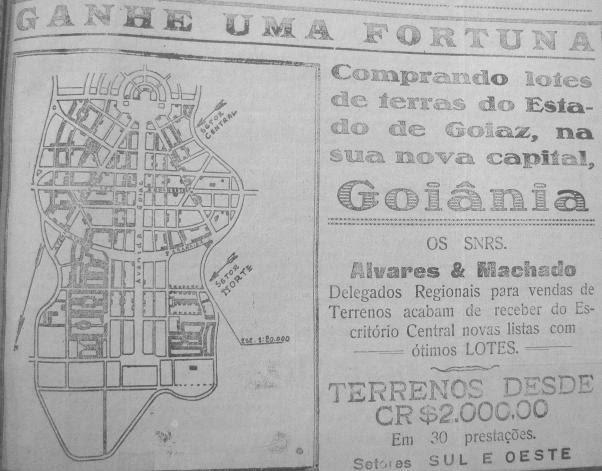 Anúncio com oportunidade de enriquecimento com lotes em Goiânia