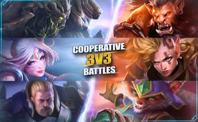 Permainan MOBA 3 v3 Online