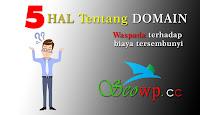 5 Hal yang harus diperhatikan saat membeli domain