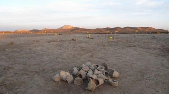 Área de culto encontrada no Iraque/Reprodução