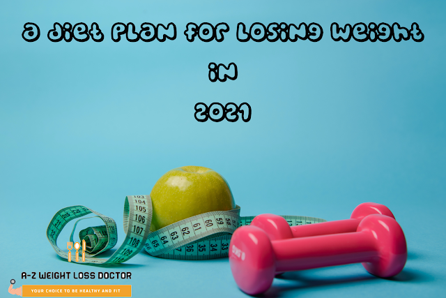 A diet plan for losing weight in 2021