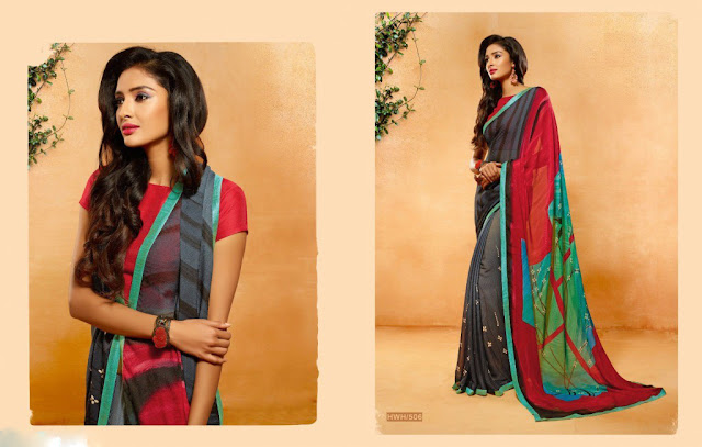 Buy Online  Casual Saree Collection at Wholesale Price