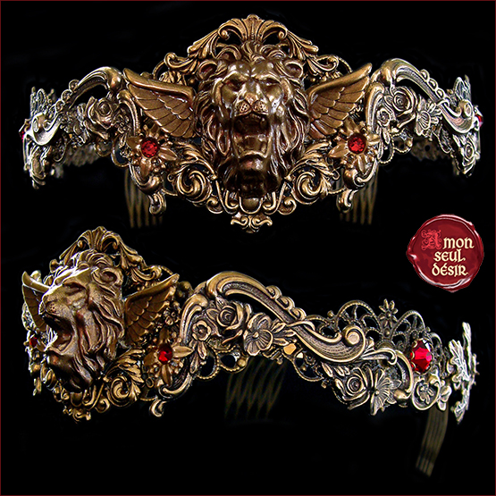 couronne medievale renaissance lion Hear Me Roar Game of Thrones Lannister