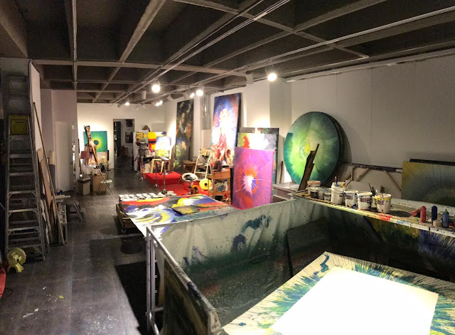 Visiting an Art Studio of the Colombian Artist Alex Sastoque