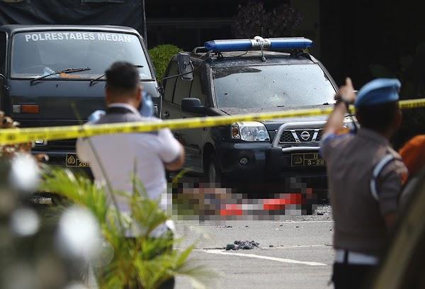 Mahfud Sebut Satu Bomber Polrestabes Medan Masih Diburu