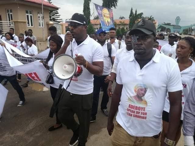 Baba Fryo, Eedris Abdulkareem stage protest against Pastor Adeboye, demands he comments on RUGA as he has on COZA rape scandal