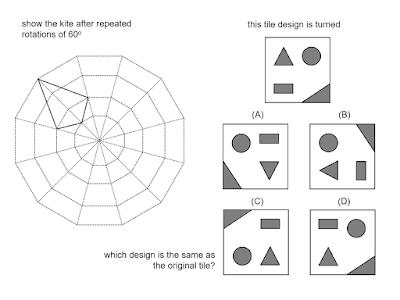 MEDIAN Don Steward mathematics teaching: rotation questions