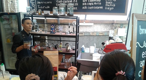 BMC Coffee, Tempat Ngopi di Pusat Kota Bandung