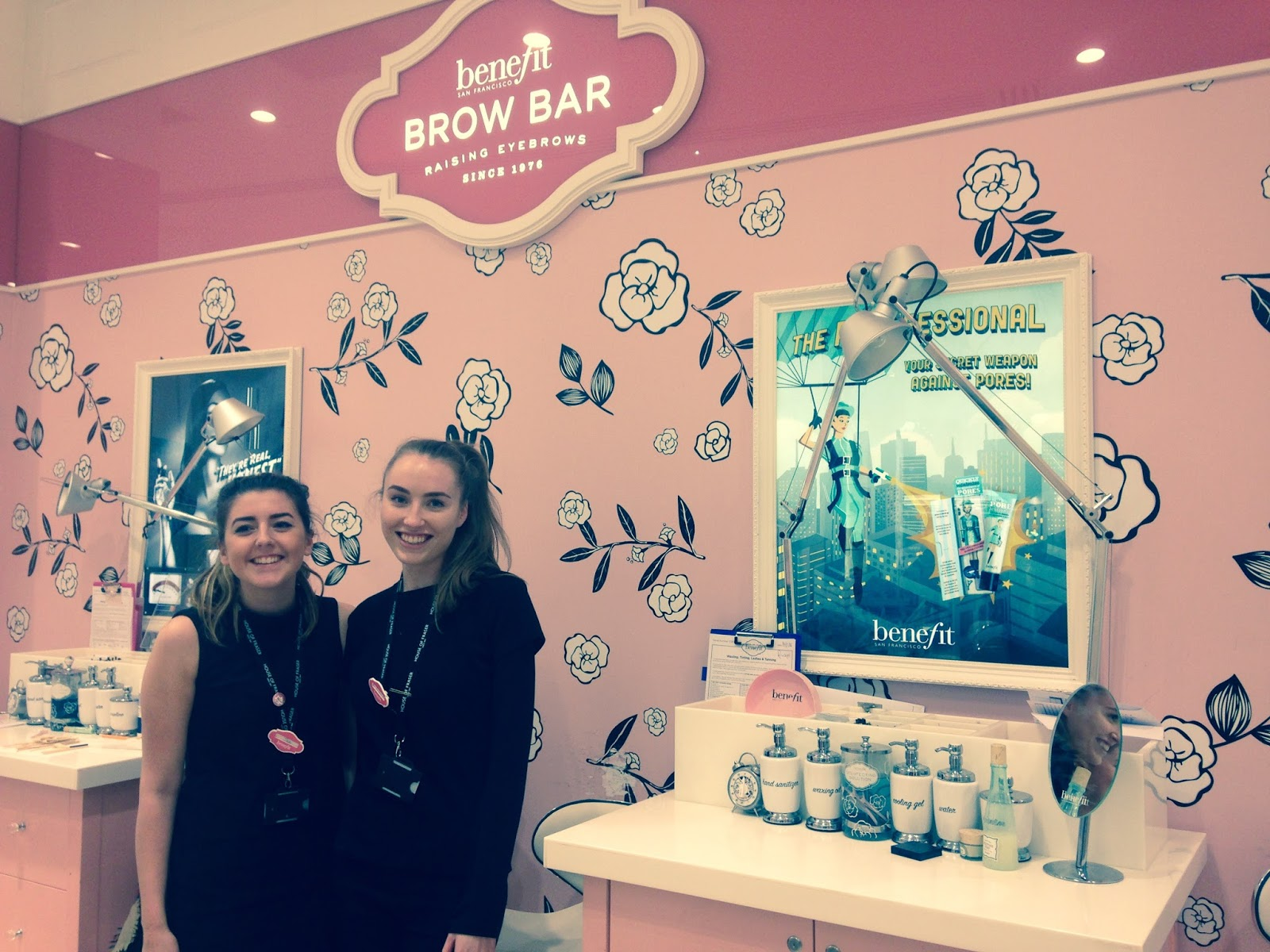 The Wee Frenchy I Tried The Benefit Brow Bar And Vip Bar And Became