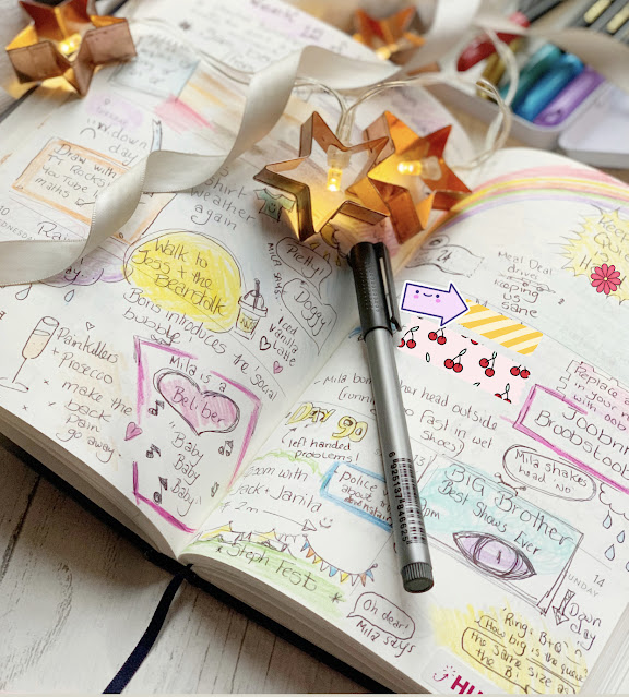 papier-personalised-diary-bullet-journal-lockdown