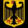 Logo Gambar Lambang Simbol Negara Jerman PNG JPG ukuran 100 px