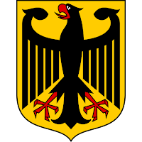 Logo Gambar Lambang Simbol Negara Jerman PNG JPG ukuran 200 px