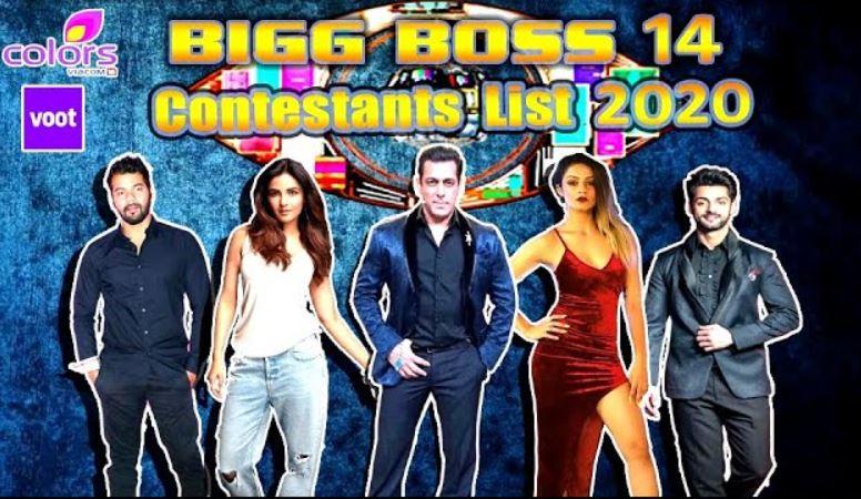 Contestant List of Bigg Boss14