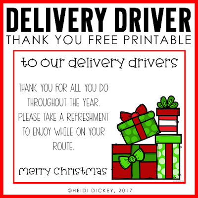 Delivery Driver Freebie Download