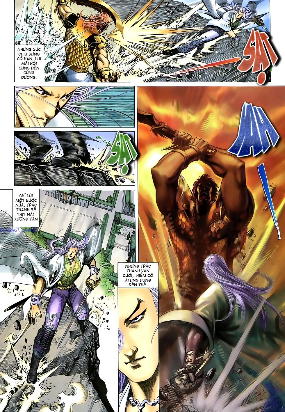 Anh hùng vô lệ Chap 16: Kiếm túy sư cuồng bất lưu đấu  trang 9