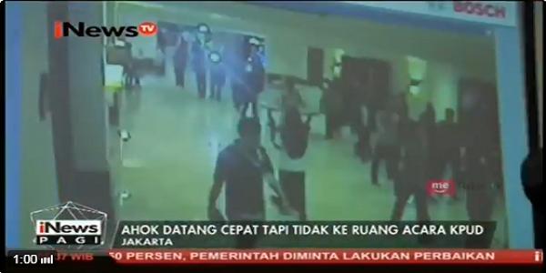 Video Rekaman CCTV Ini Menguak Siapa Sebenarnya yang Salah Saat Rapat Pleno KPUD DKI di Hotel Borobudur