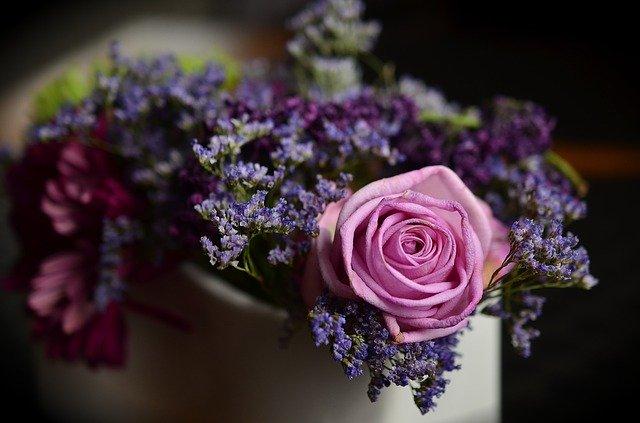 Gambar Sekuntuk bunga mawar