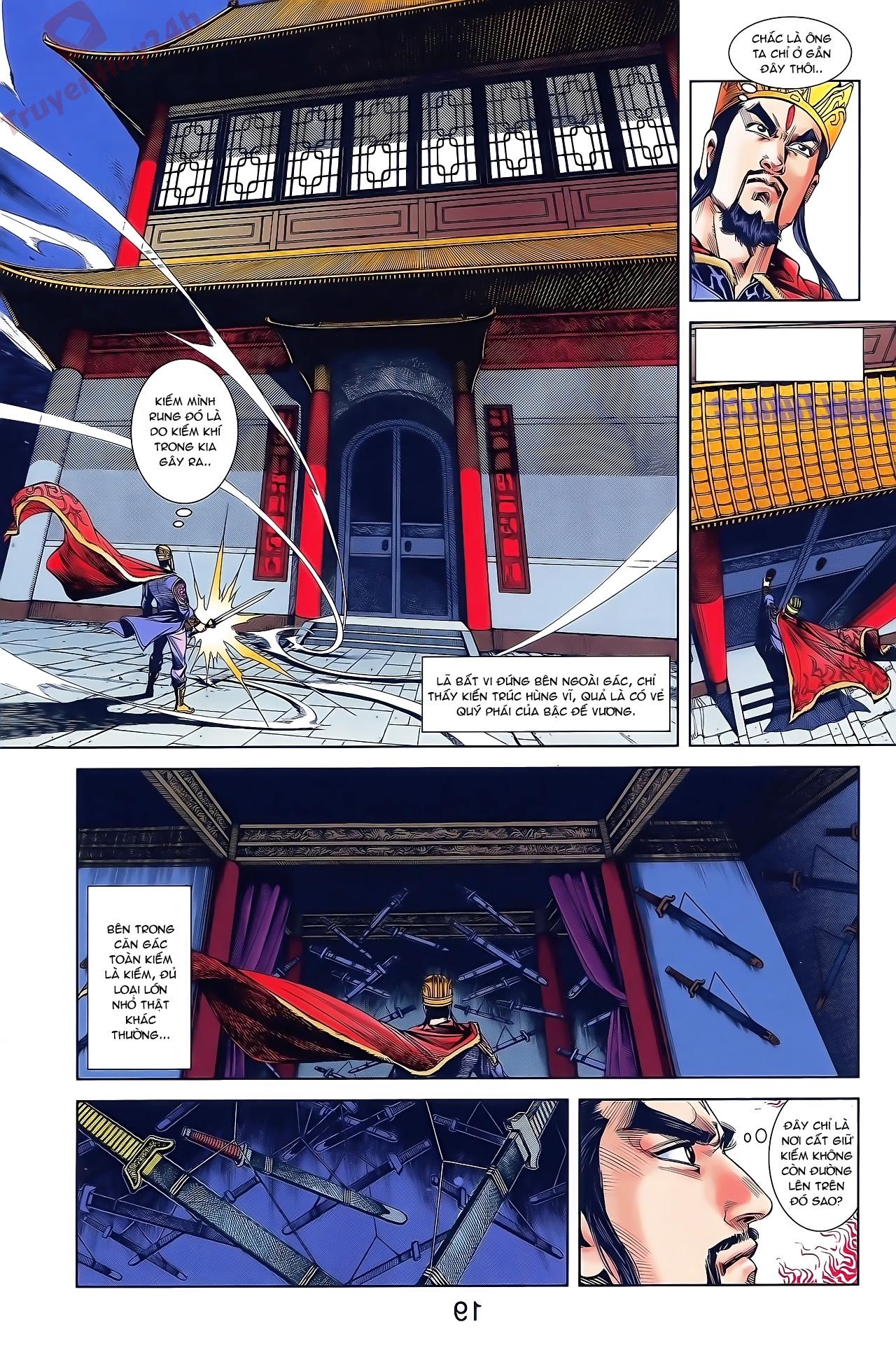 Tần Vương Doanh Chính chapter 48 trang 5