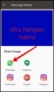 Cara Membuat Tulisan Warna di WhatsApp
