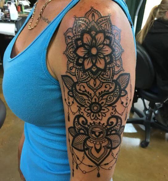Mandala Tattoos for Women