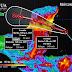 Prevén tormentas torrenciales en Quintana Roo, debido a la proximidad de Franklin a la Península de Yucatán