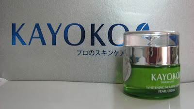 Kem chống nắng, dưỡng da trắng hồng Kayoko (Pearl Cream)