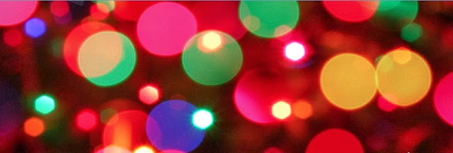 Lights Holiday Facebook cover
