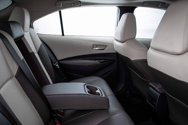 Toyota Corolla 2020 Hybrid - Premium - Interior Bege