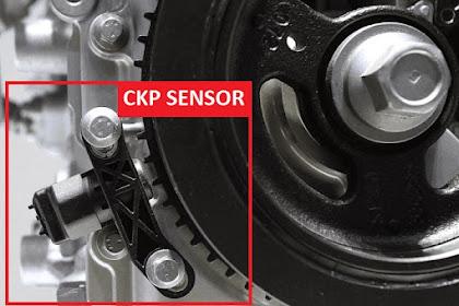 Fungsi Dan Cara Kerja CKP (Crank Shaft Position) Sensor pada Sistem Injeksi