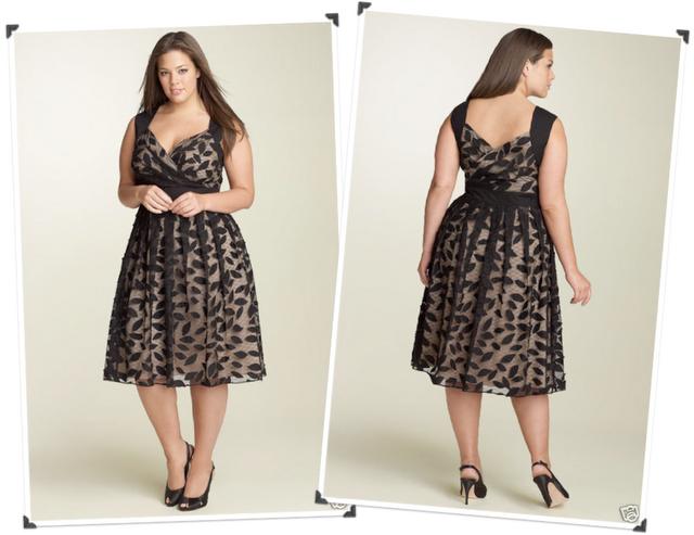 modelo de vestido de festa para gordinha