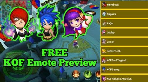 Cara Mendapatkan Battle Emote Gratis Mobile Legends (Script)