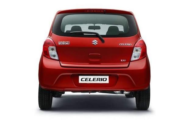 Maruti Suzuki Celerio Rear hd image