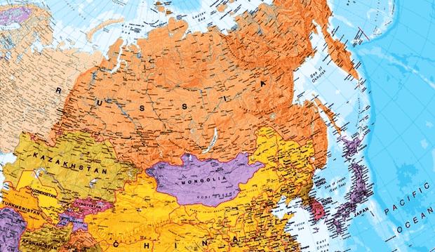 Negara Rusia terletak di antara perbatasan Benua Eropa Timur dan Benua Asia Letak Astronomis, Geografis dan Geologis Negara Rusia serta Keuntungannya
