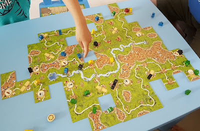 Carcassonne Board Game, Carcassonne Expansion Under the Big Top, best board games