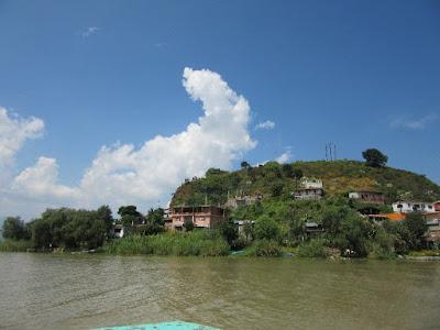 Isla de Tecuena en el Lago de Pátzcuaro