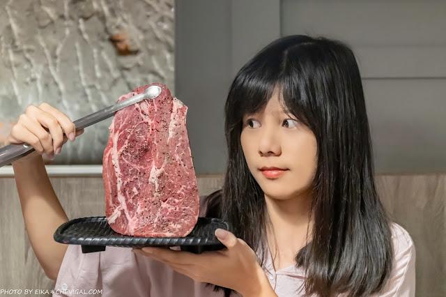 3597 - 熱血採訪│台中人氣日式炭火燒肉吃到飽!限時加價不用百元就能享有和牛吃到飽,還有比臉大牛排任你吃