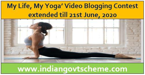My Life, My Yoga' Video Blogging