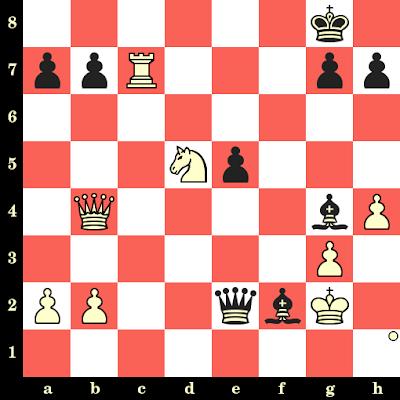Les Blancs jouent et matent en 4 coups - Igor Ivanov vs Brian Hartman, Canada, 1986