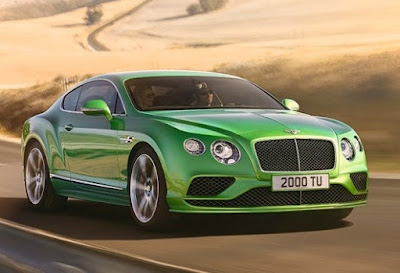 Bentley Mulsanne Exterior Colors: Metallic colors