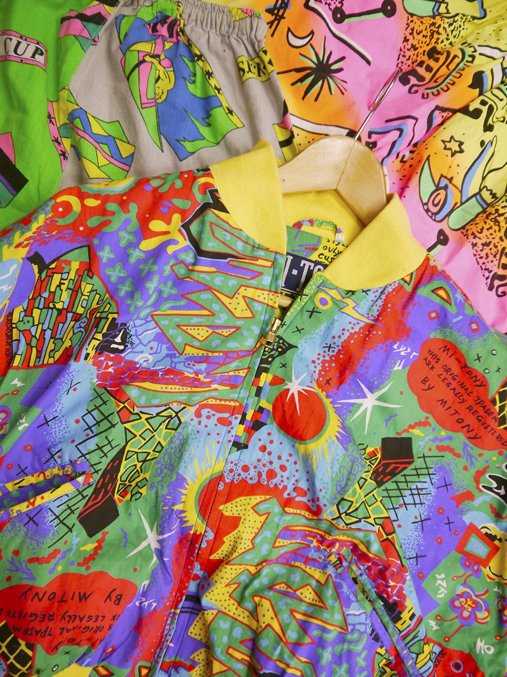 studio visit, designer studio, local designer, Scottish designer, Dundee designer, Dreamland, Dreamland Clothing label, colourful design, Wasps Artists Studios, Dundee Artist studios, Kickstarter Campaign, saved by the bell inspired clothing, Kickstarter, shop local, Q&A, designer interview, behind the scenes