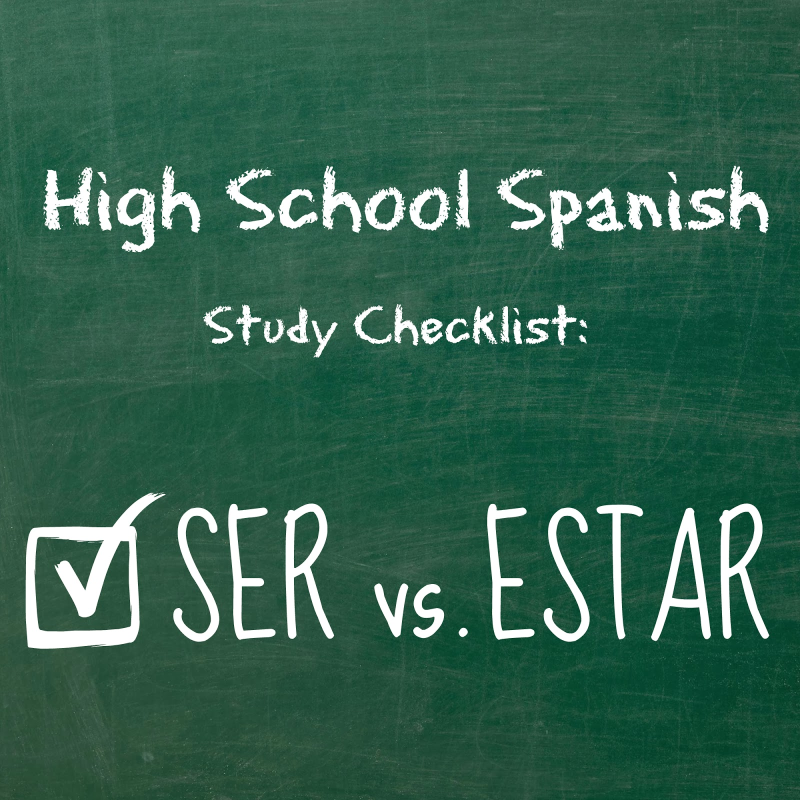 For The Love Of Spanish Ser Vs Estar Practice Exercises