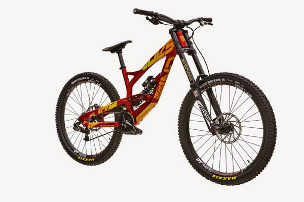 2015 YT Industries Tues AL Red/Yellow