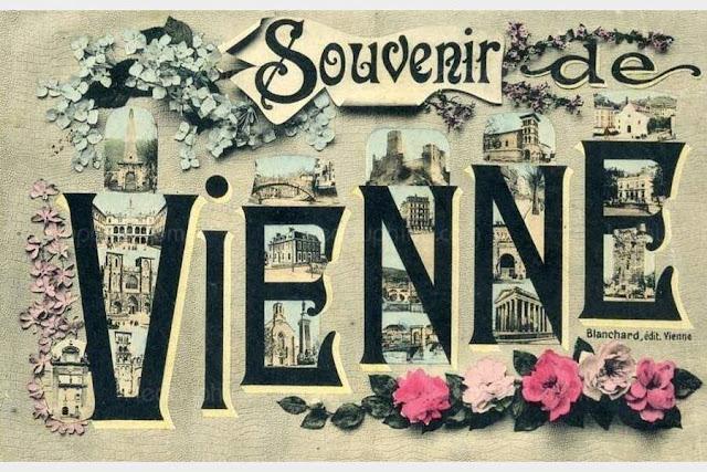Cartes postales anciennes de la ville de Vienne (Isère)