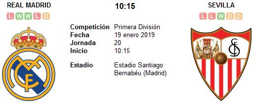 Real Madrid vs Sevilla en VIVO